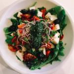 salade ostari, pesto