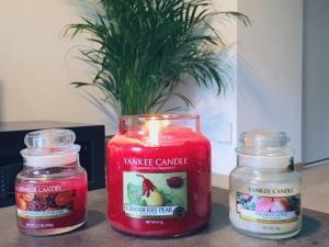 Yankee candle moyenne jarre et petite